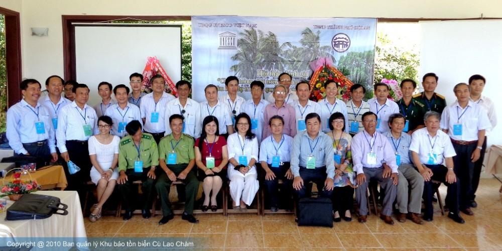 Hội thảo 10 năm KBTB và 5 năm KSQChào mừng kỷ niệm 5 năm Khu dự trữ sinh quyển Cù Lao Chàm 26/5/2009-2014